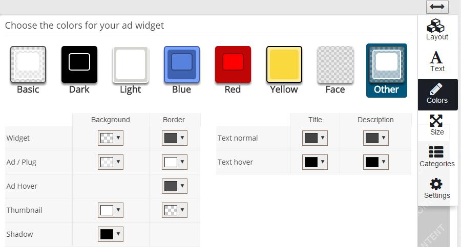 Customize Plugrush Display Ads